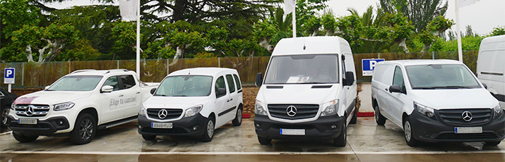 Mercedes Benz Auto Oja Rent Van